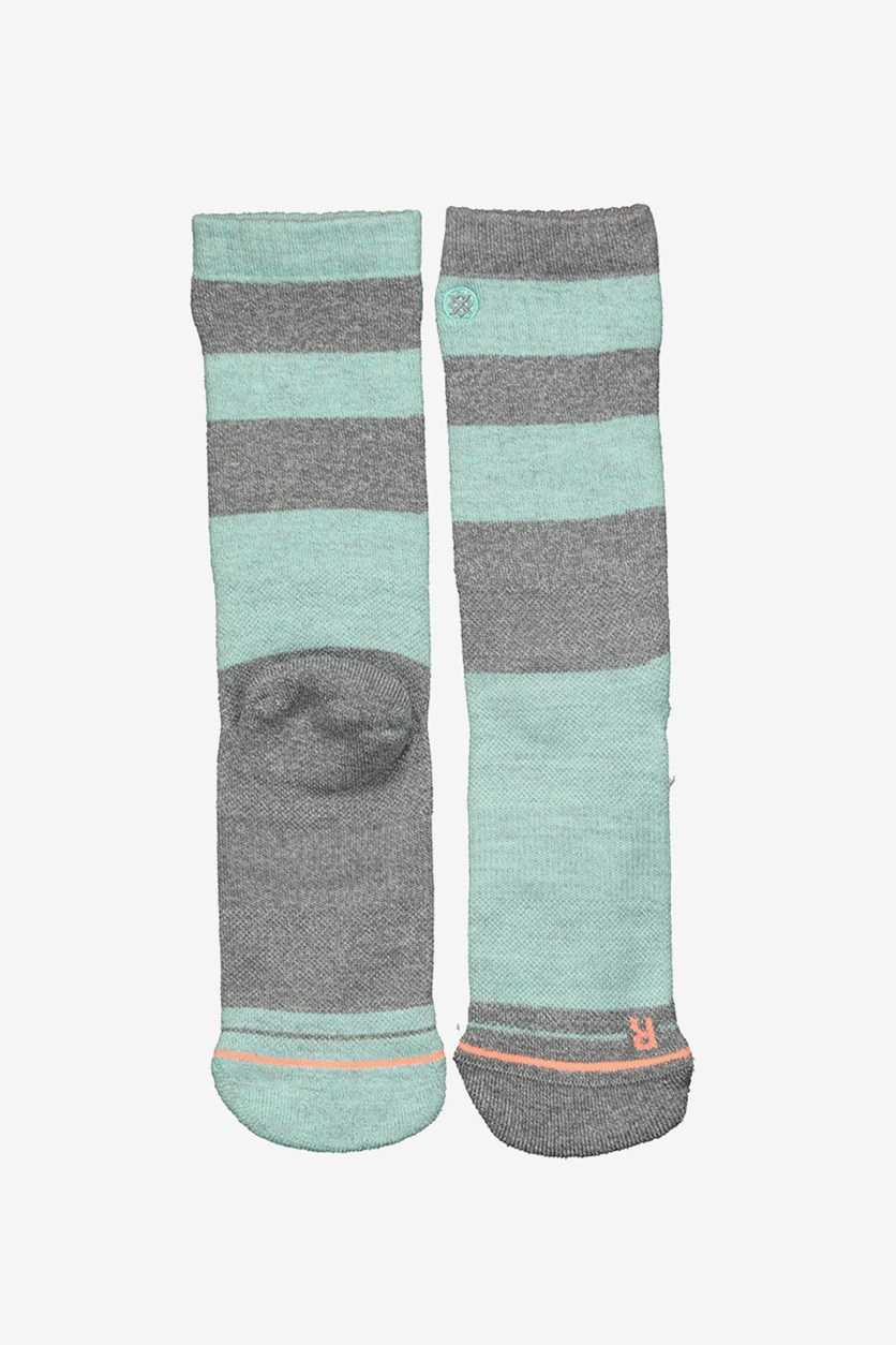 Women's Solo Voyage Outdoor Socks, Grey Combo