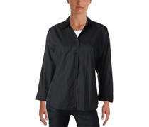 Ralph Lauren Women's Cotton Work Wear Top, Black