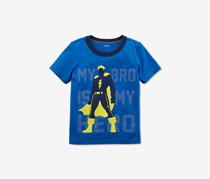 Carters Graphic-Print Cotton T-Shirt, Blue