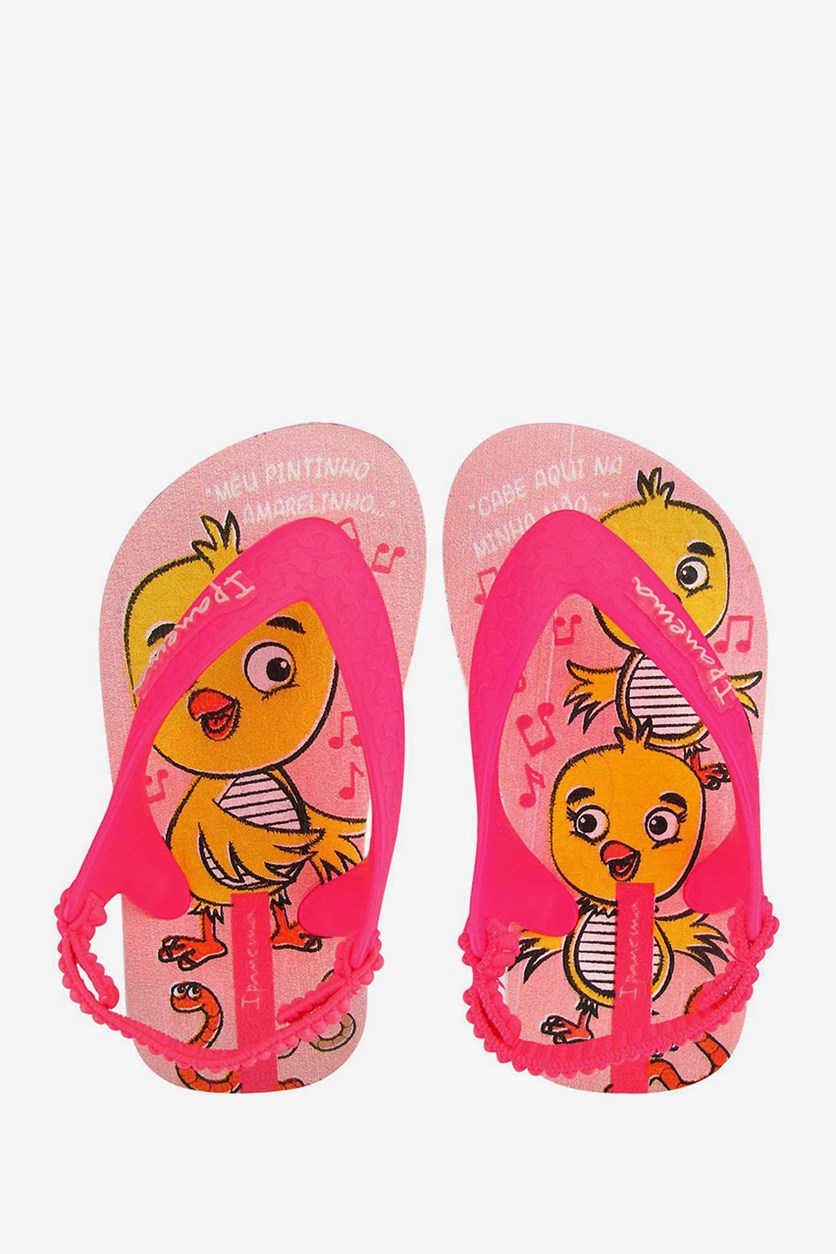 Baby Girl Tweety Slipper, Pink
