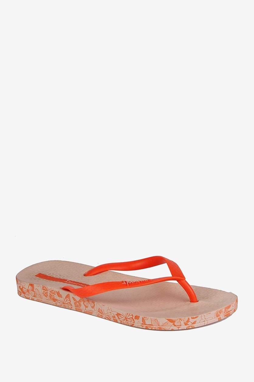 Anatomica Soft Flip Flops, Orange