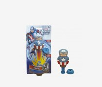Imperial Licensed Power Popper Soft Body Superhero With Easy Loading Base, Blue
