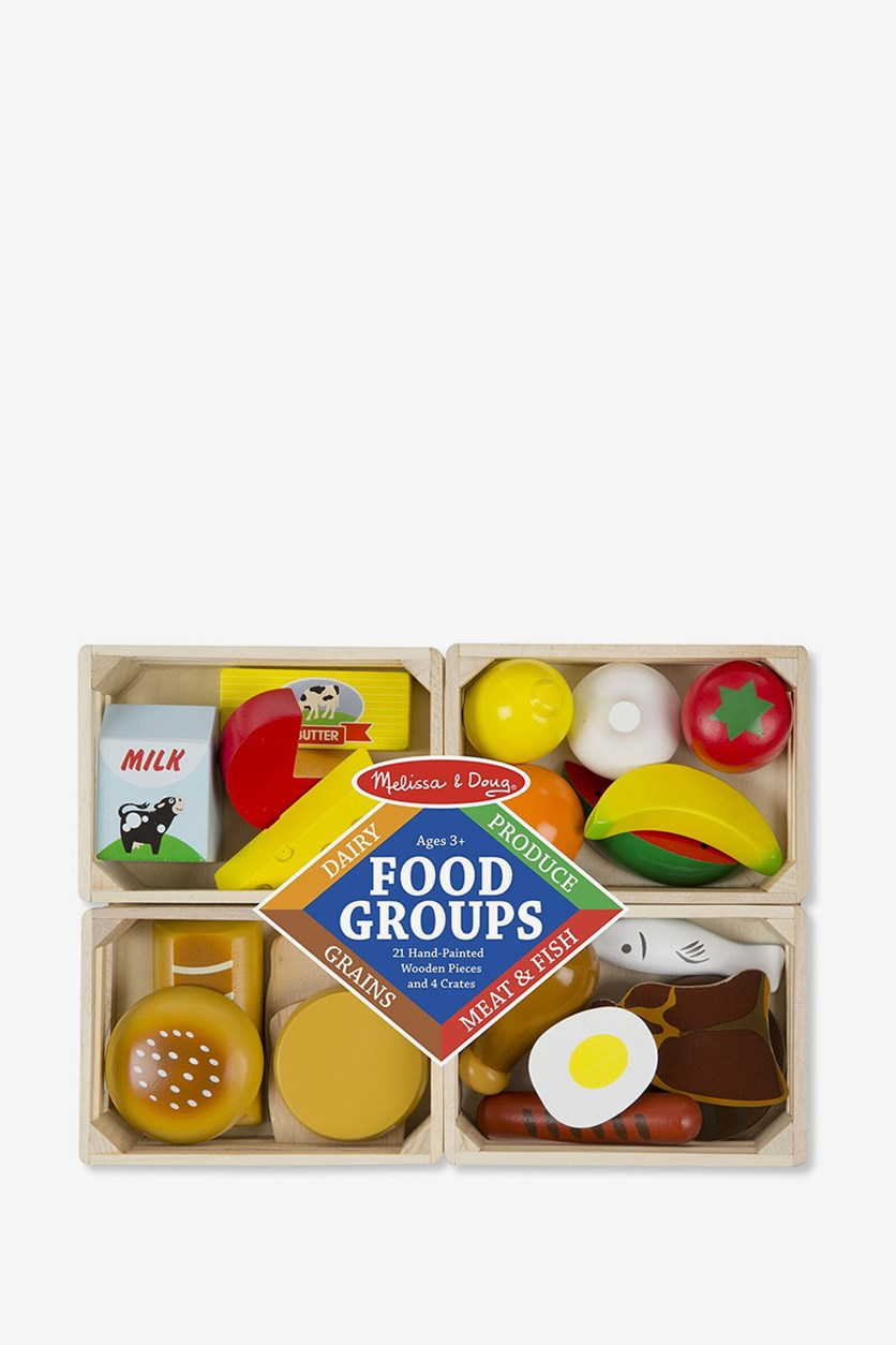 Food Groups Play Food Set, Yellow Combo