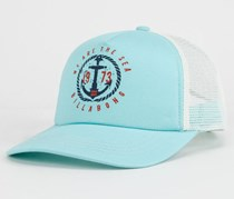 Billabong Anchor Stamp Girls Trucker Hat, Blue
