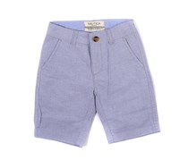 Nautica Boy's  Stretch Oxford Shorts, Gray