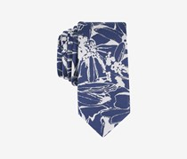 Men's Totness Abstract Tie, Floral Blue