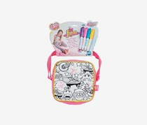 Disney Color Me Mine Soy Luna Small Square Bag, Pink Combo
