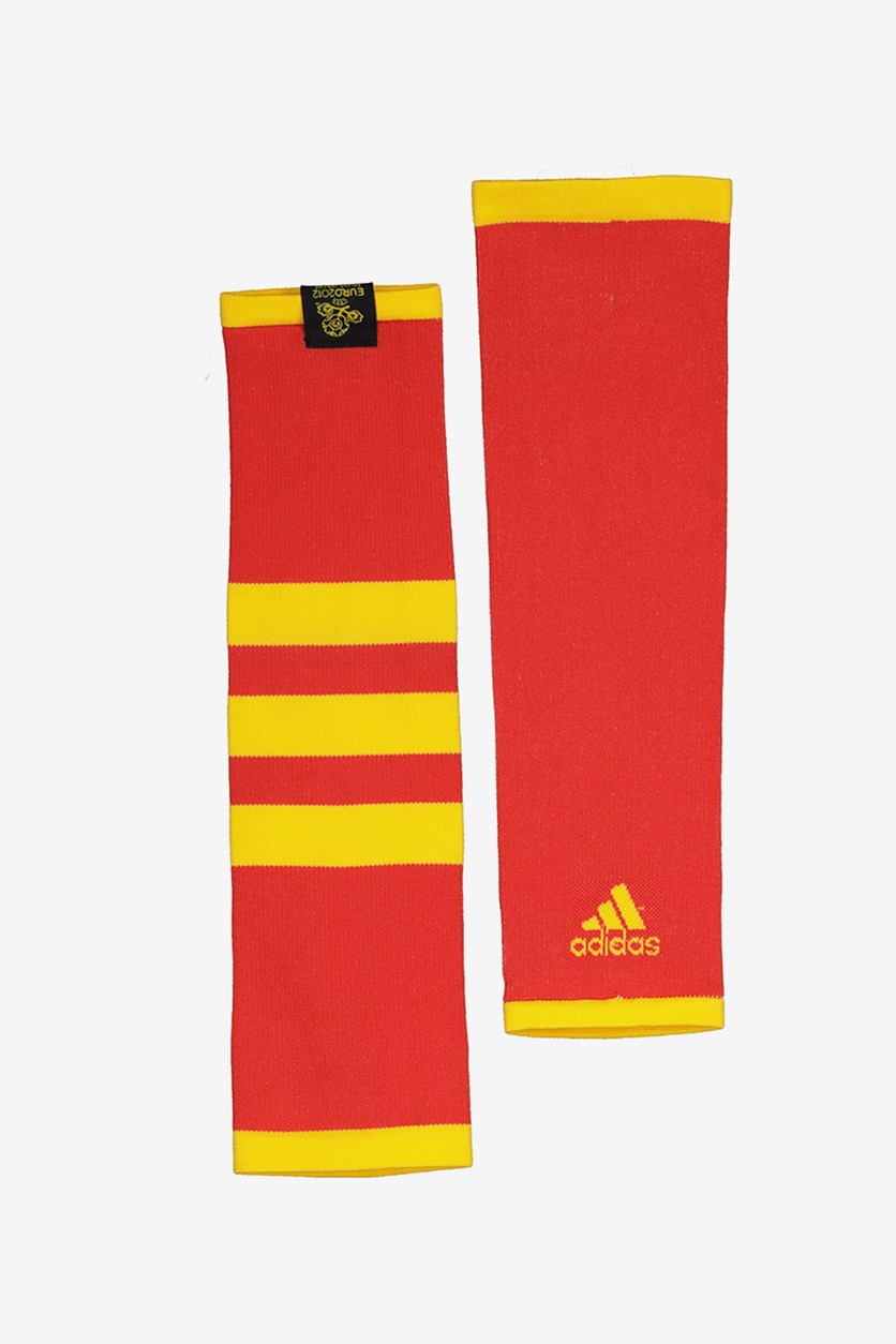 Men CF SPA Sleeves, Red/Yellow