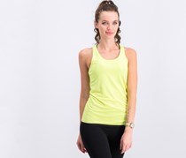 Adidas Equivalence Clima Chill Tank Top, Yellow Green/Black