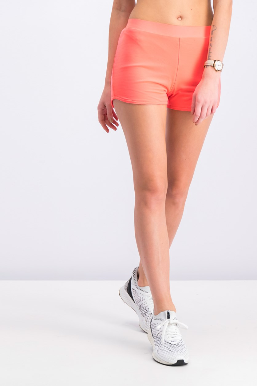 Women's Running Short, Neon Pink