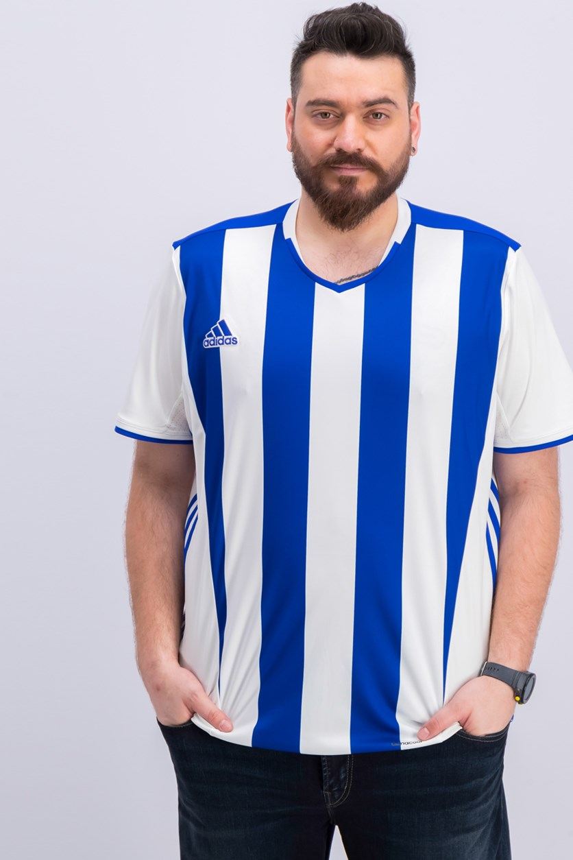 Men Real Sociedad Home Football Shirt, White/Blue