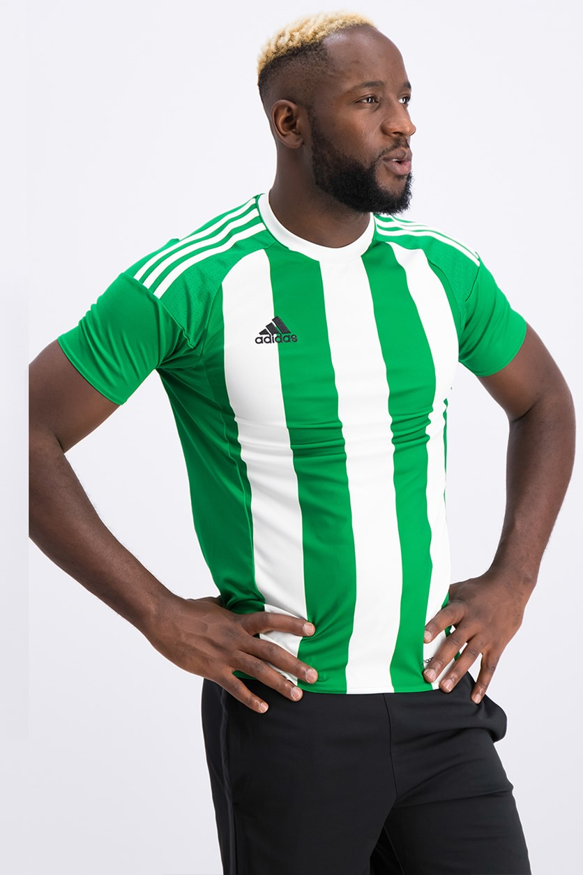 Striped Betis H Jersey, Green/White