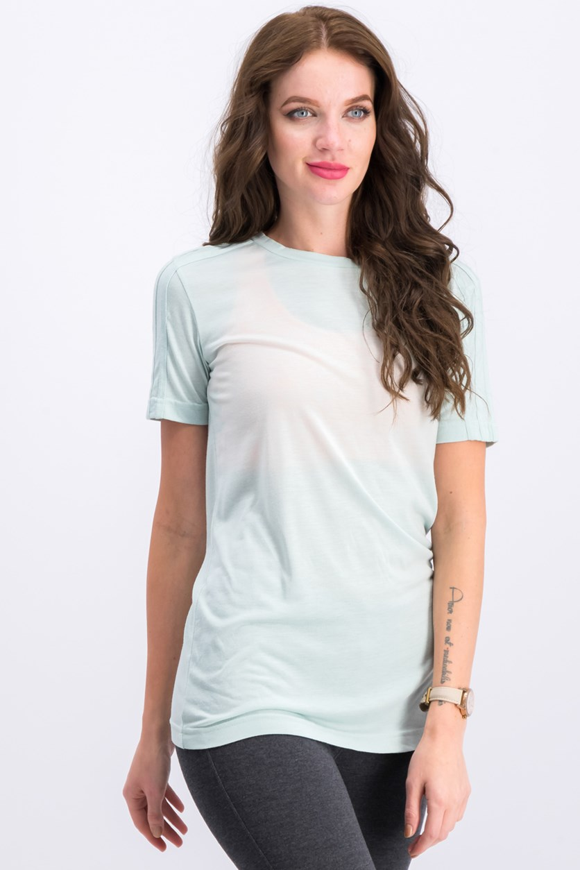 Women's Ocean Elements Tee, Vapour Green