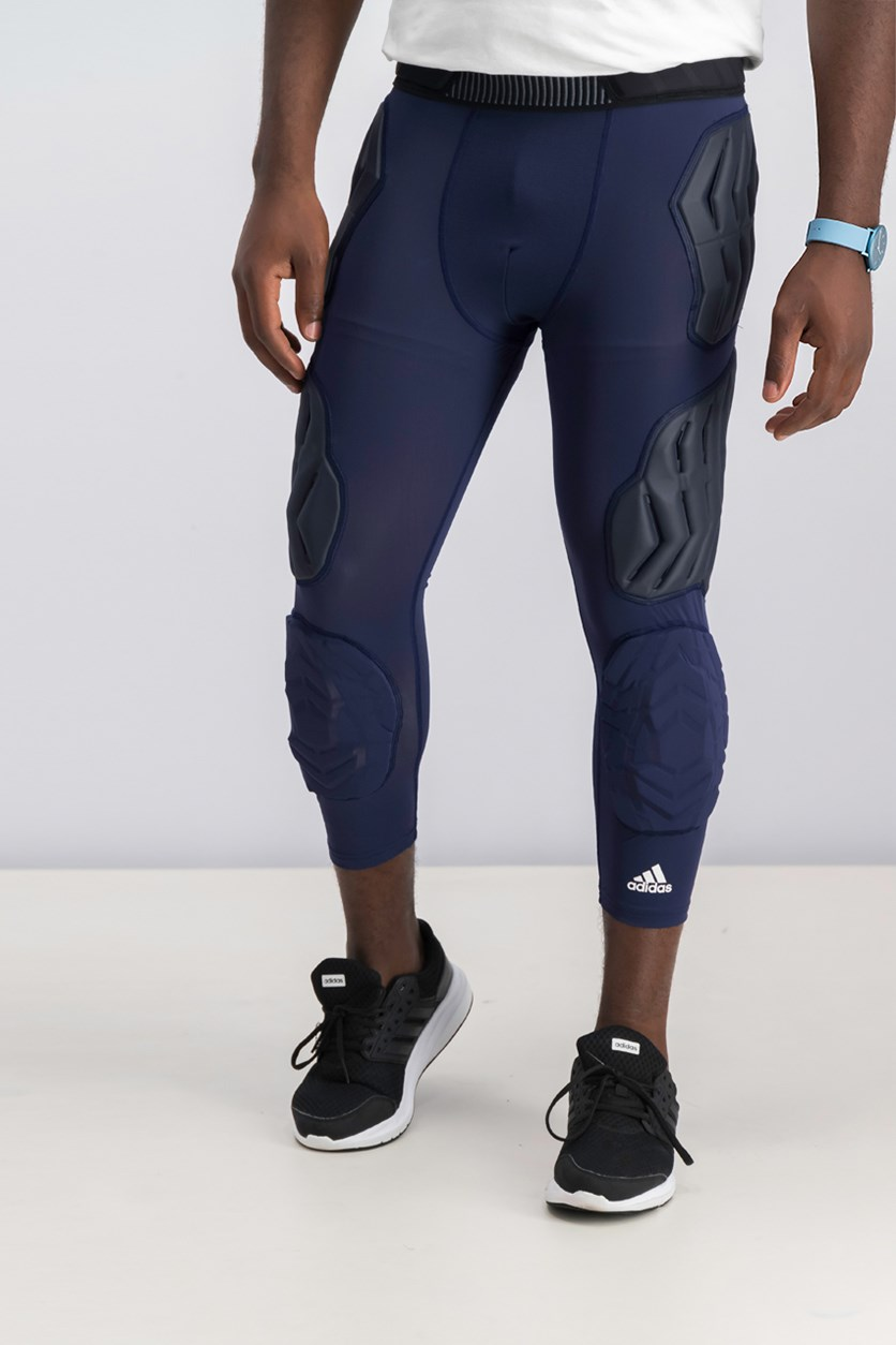 Men's Padded Tights, Navy