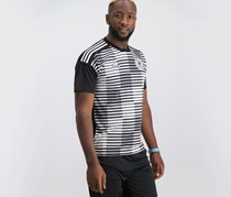 Adidas Germany Pre-Game Jersey, White/Black