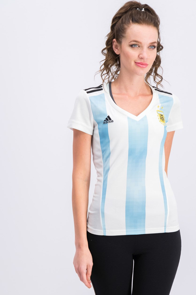 Women's Argentina National Soccer Team Jersey, White