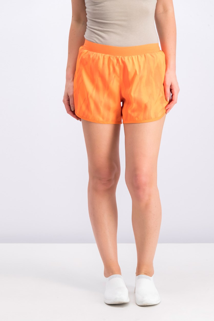 Women's M10 Q1 Running Short, Orange