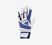 Adidas Boys' 1 Piece Left Hand Baseball Punch Glove, Blue/White