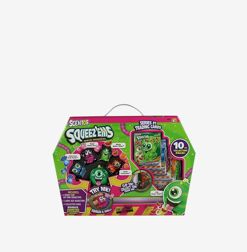 Squeez'ems Scented Collectors Series Kit, Green Combo