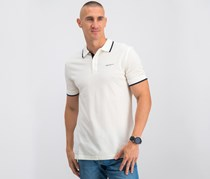 Hackett Cotton Piquet Polo, OffWhite
