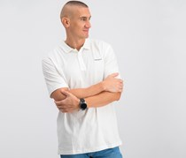 Hackett Golf Washed Jersey Polo, White
