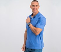 Hackett Golf Washed Jersey Polo, Yonder