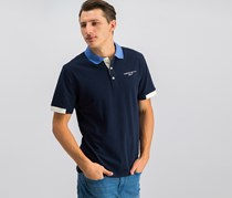 Hackett Mens Polo Shirt, Atlantic/Yonder