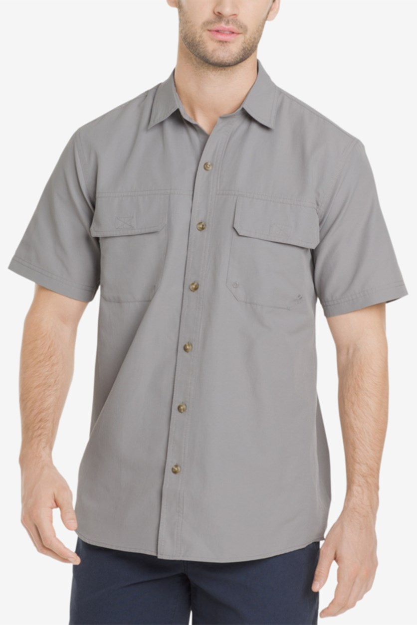 Men's Explorer Fishing Shirt, Alloy