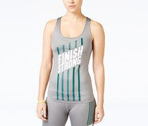 Energie Active Women's Graphic Compression Tank Top, Grey