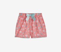 Max & Olivia Kids Girls Graphic-Print Sleepwear Shorts, Pink