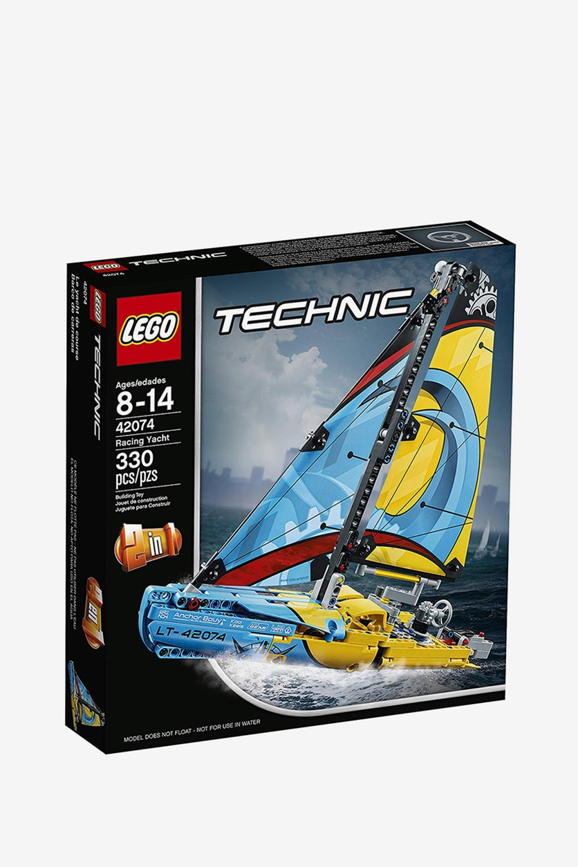 Technic Racing Yacht Building Kit, Blue Combo