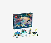 LEGO Elves Naida & The Water Turtle Ambush Building Kit, Combo