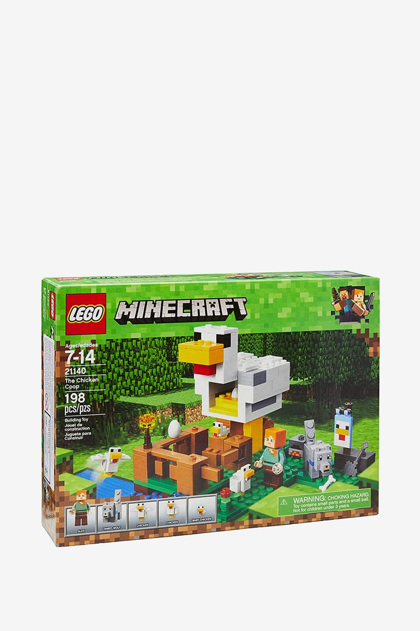 Minecraft The Chicken Coop Building Kit, Green Combo
