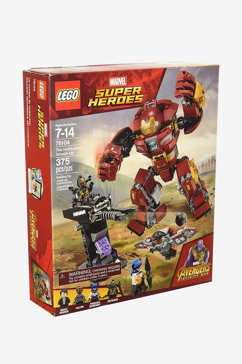 Marvel Super Heroes Avengers Infinity War The Hulkbuster Smash-Up Building Kit, Combo