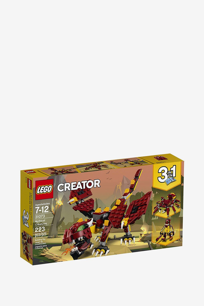 Creator 3in1 Mythical Creatures Building Kit, Yellow Combo