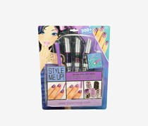 Style Me Up Bling Nail Art Pens, Purple