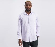 Bar III Men's Slim-Fit Dress Shirt, Lavender