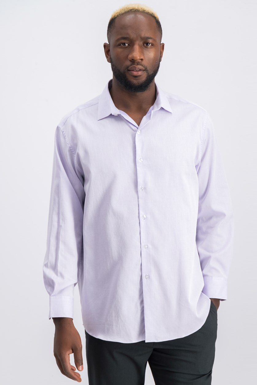 Men's Slim-Fit Dress Shirt, Lavender