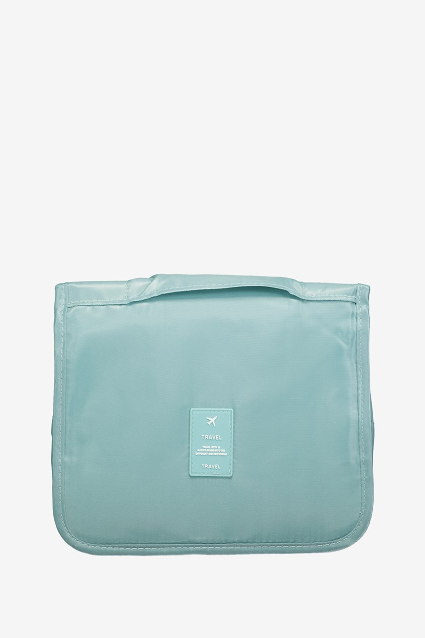 Travel Toiletry Bag, Teal Blue