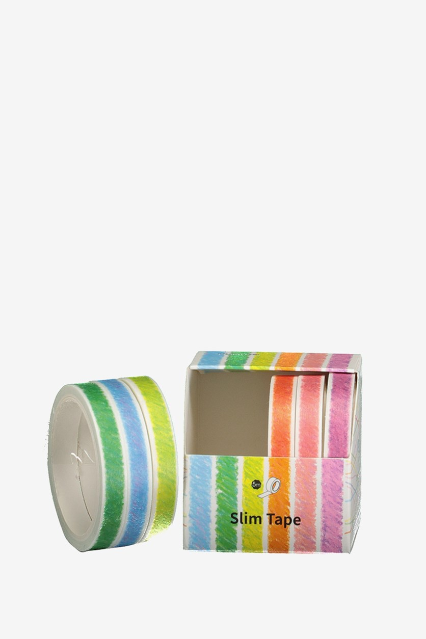 Stripes Masking Tape Set, Pink Combo