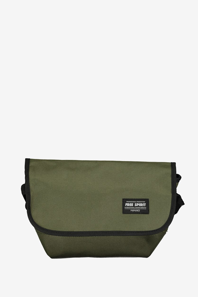 All Match Fashionable Messenger Bag, Green