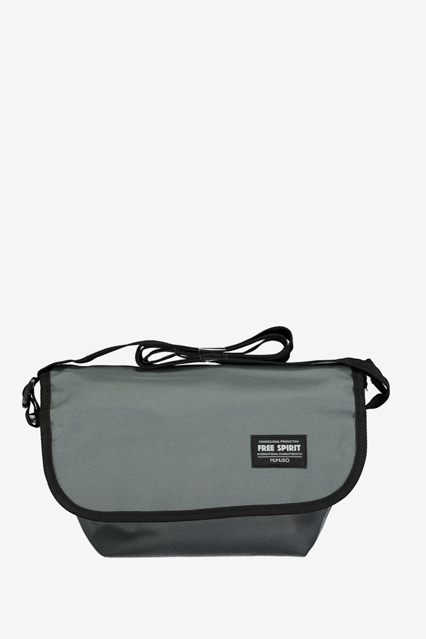 All Match Fashionable Messenger Bag, Grey