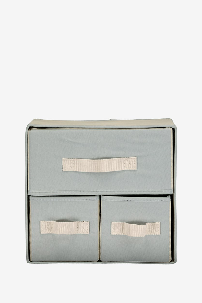 Storage Cabinet, Grayish Blue