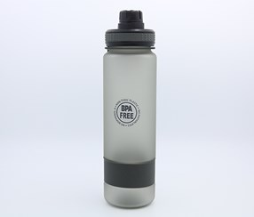 Portable Plastic Bottle-Dull Polish 900 ml, Black
