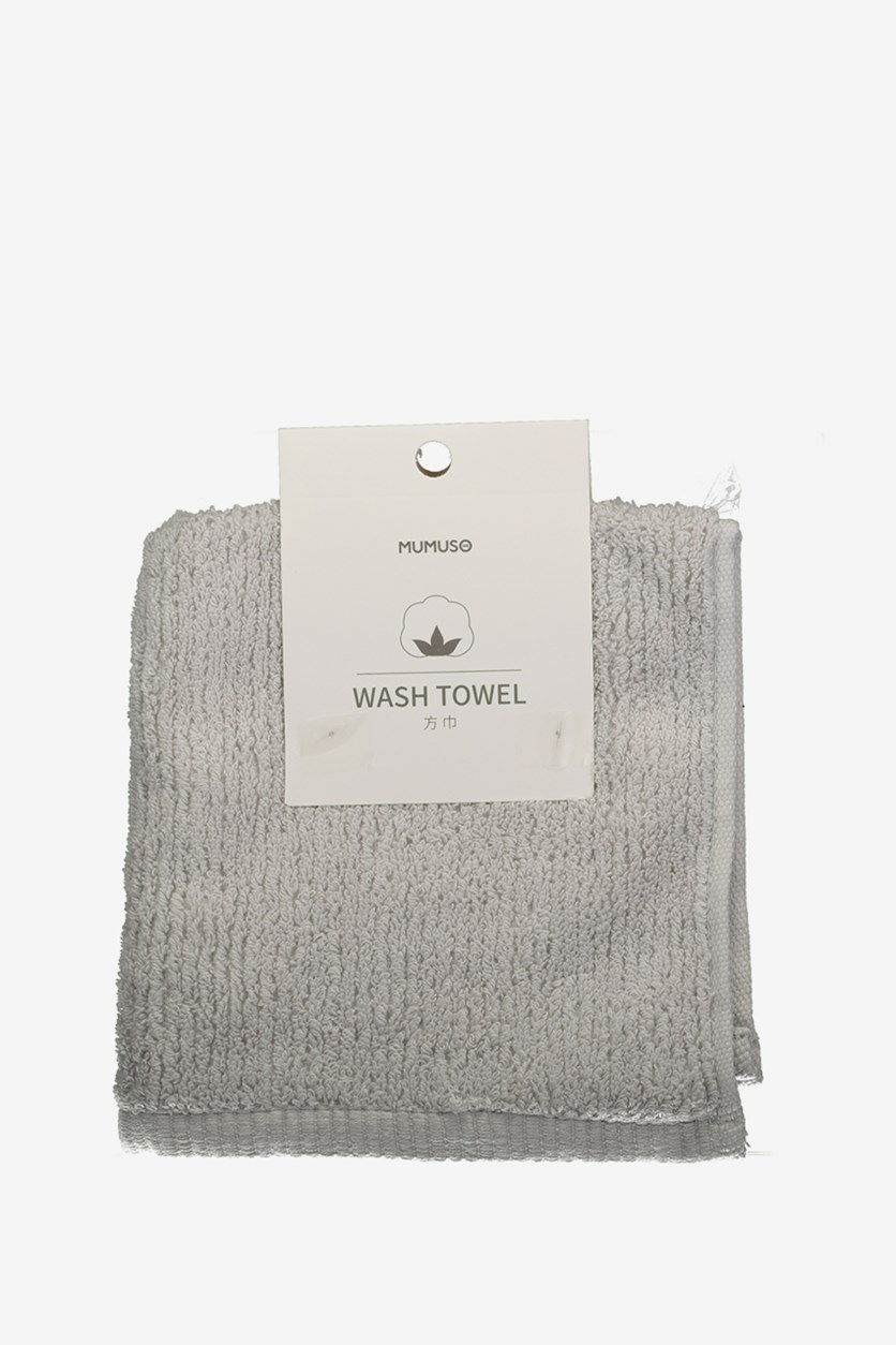 Wash Towel, Grey