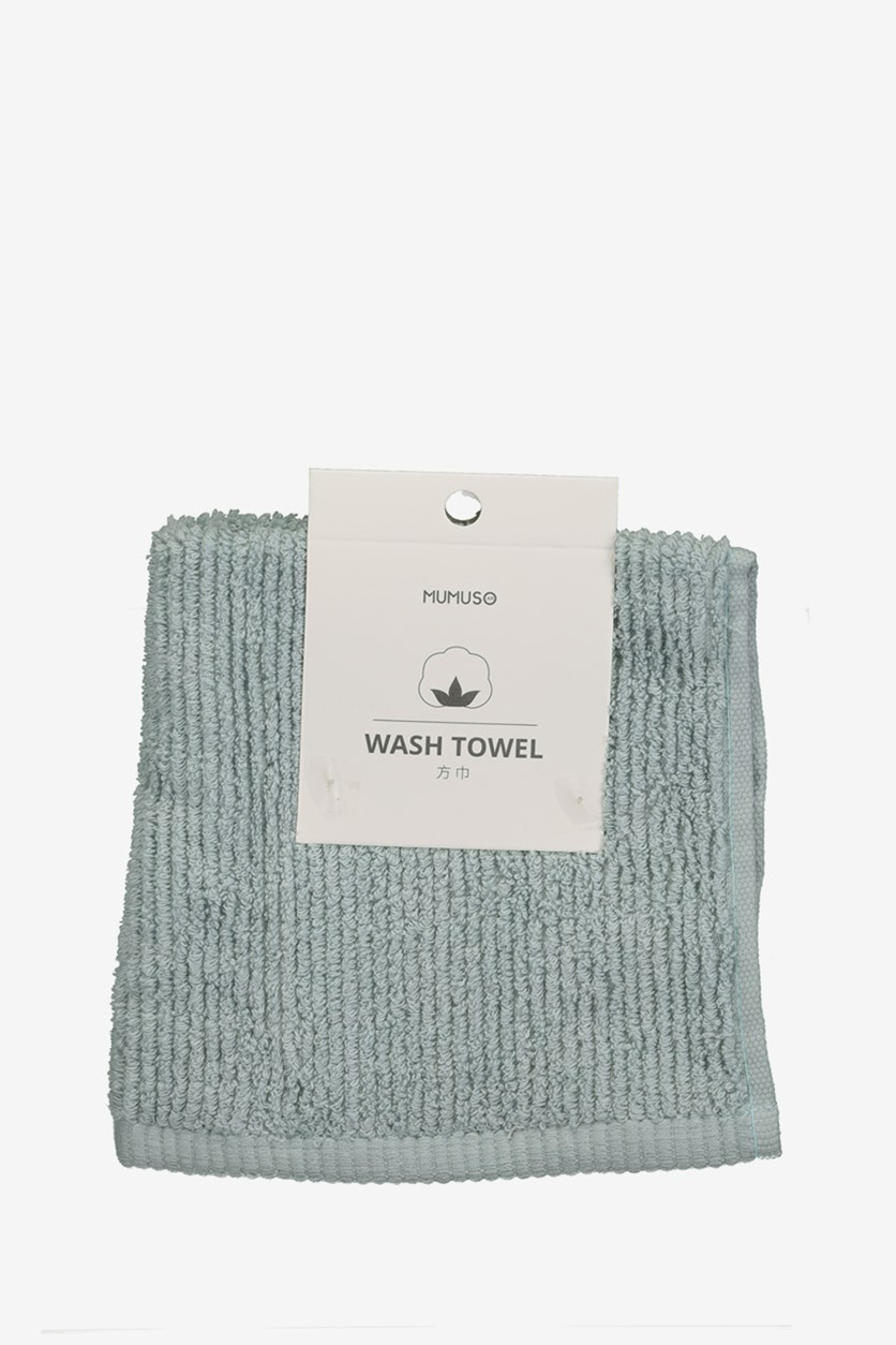Wash Towel, Bluegreen