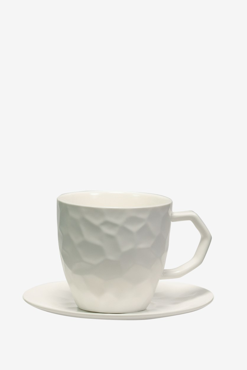 Coffee cup-The water Cube, White