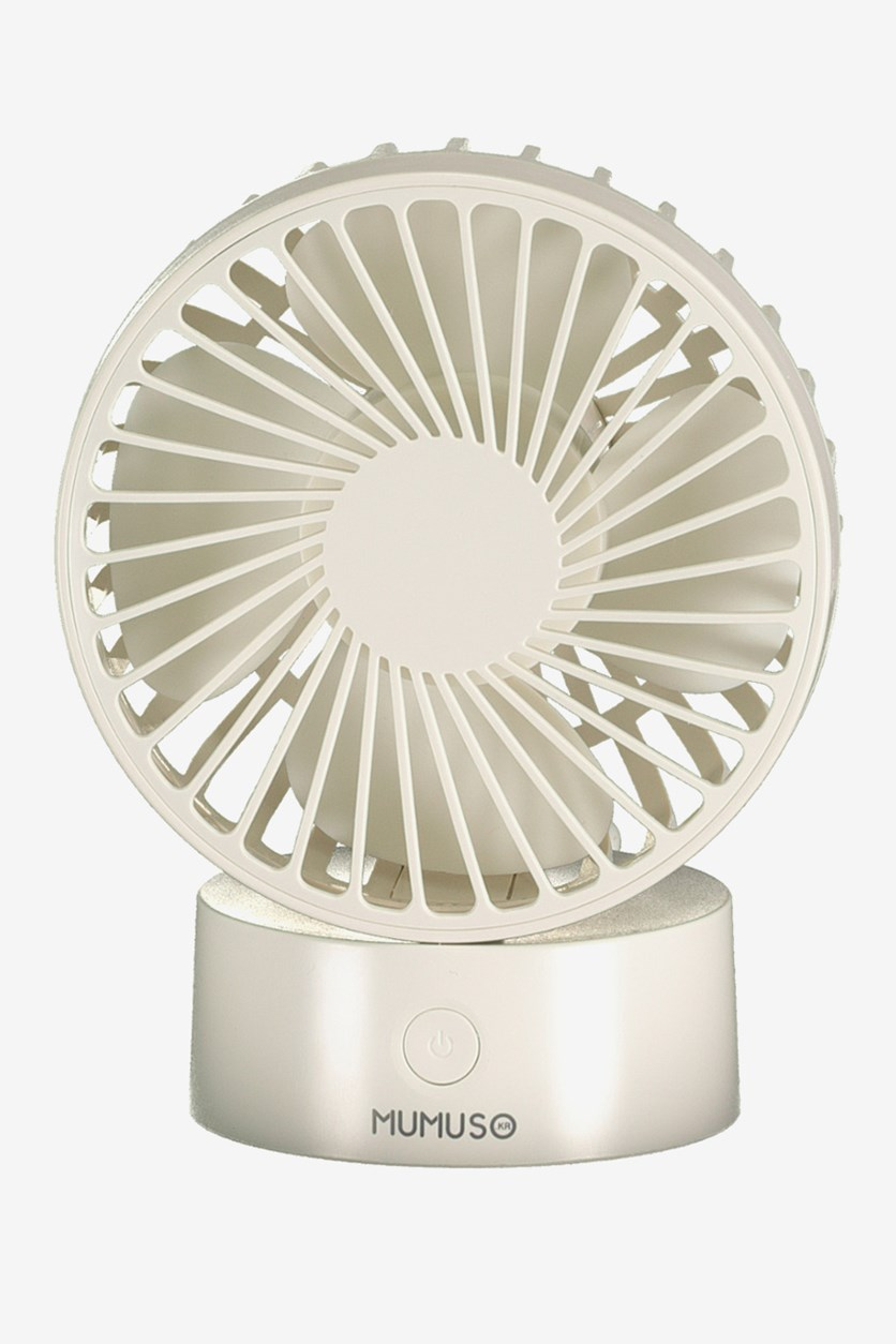 USB Desktop Fan, White