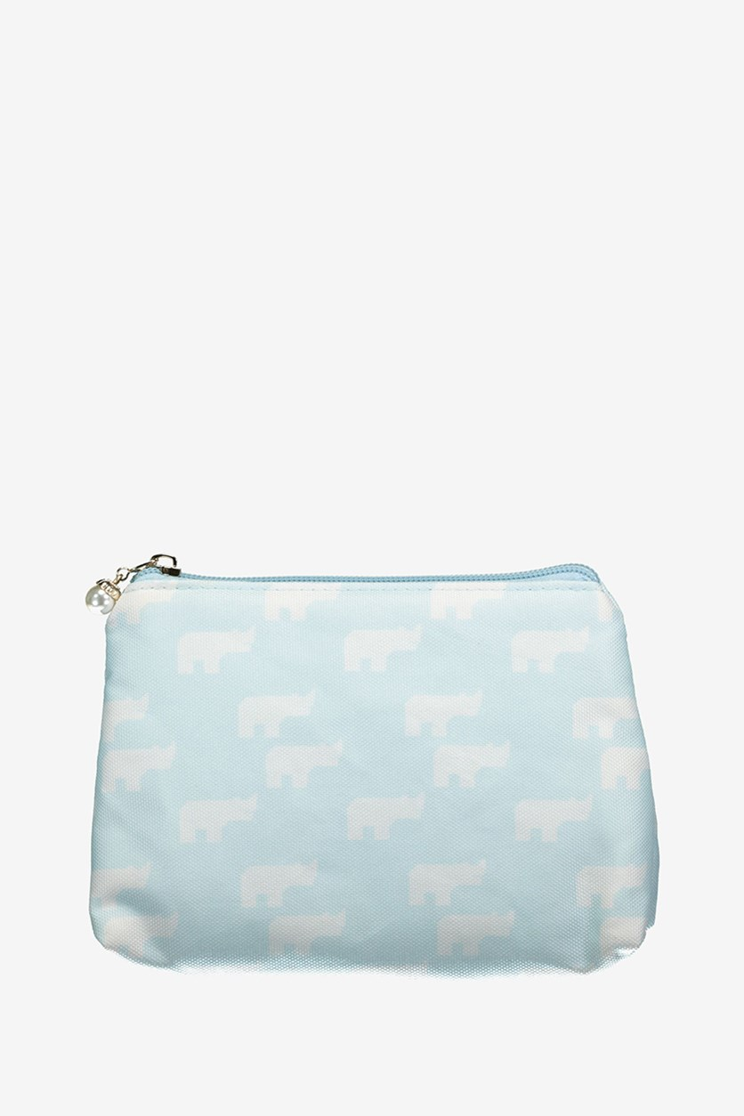 Cosmetic Bag, Light Blue