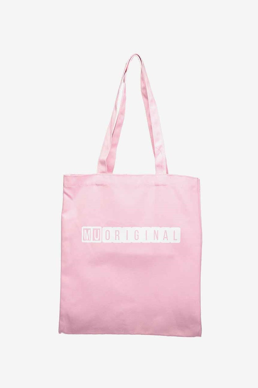 Women's Canvas Shoulder Bag, Pink